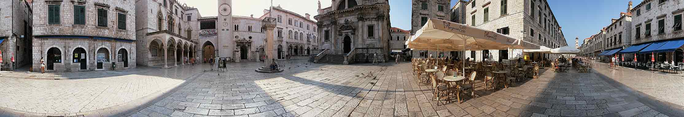rmation old town virtual tour panorama photos stradun ploce side